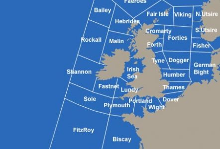 Shipping Forecast Sea Areas