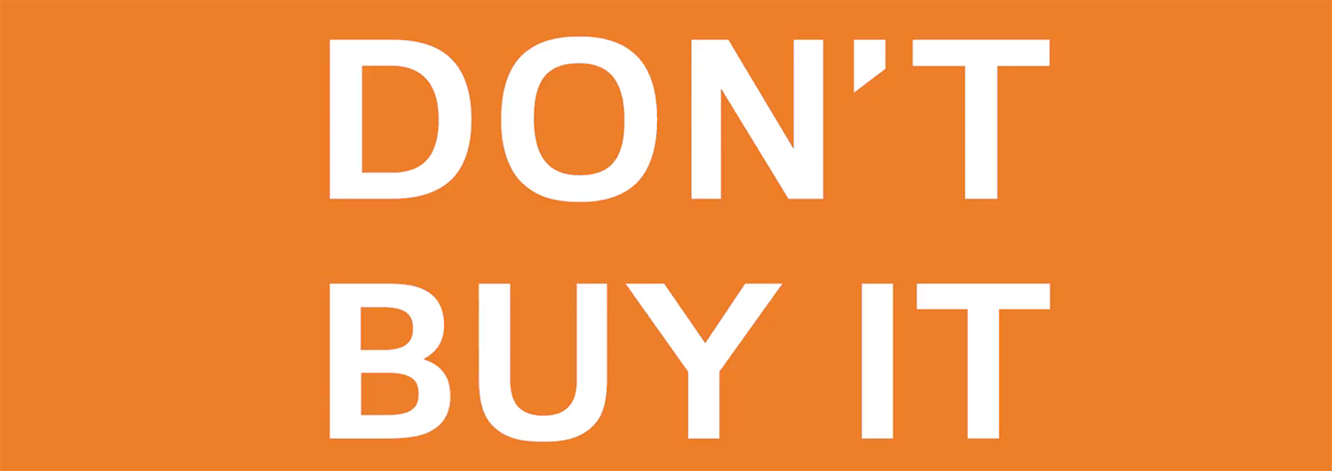 BIS - Don't Buy It video image