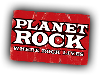 Planet Rock logo and branding